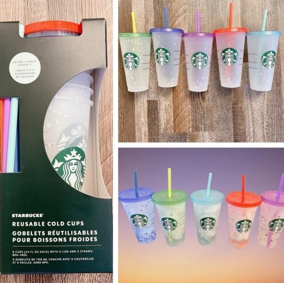 Starbucks Confetti Cold Cup Pack